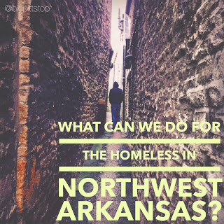 What resources are there for the homeless in Northwest Arkansas? @bigpittstop #NWArkCares