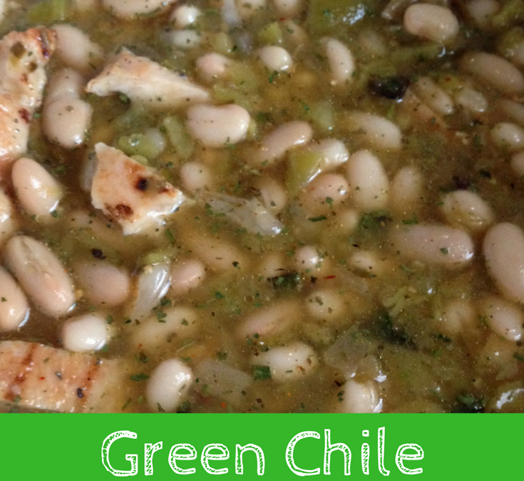 Green Chile Chicken Chili – experiential cooking