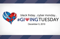 giving tuesday (or thursday)