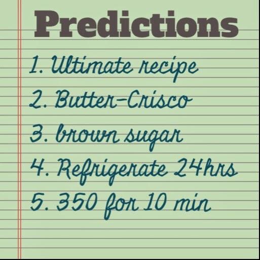 #cookiequest: Prediction