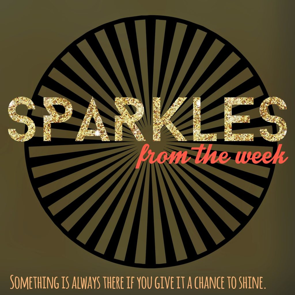 Sparkles from the Week | A few gems I've run across...be inspired and live a little!