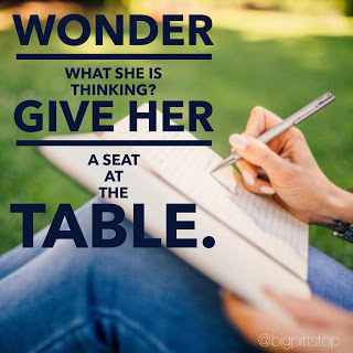 Wonder what she is thinking? Then invite her to the table! Women in Leadership - What can you do? @bigpittstop #NWArkCares