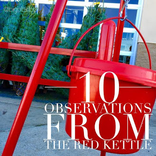 10 Observations from the Red Kettle