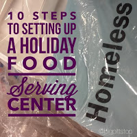 10 Steps to Setting up a Holiday Food Serving Center