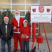 10 Observations from my day behind the Salvation Army Red Kettle @bigpittstop #NWArkCares