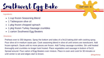 Southwest Egg Bake - the perfect easy breakfast dish for any occasion.  Regular saturday mornings, Bachelor weekends on the river or a cabin in the woods. 4 ingredients for any baker!