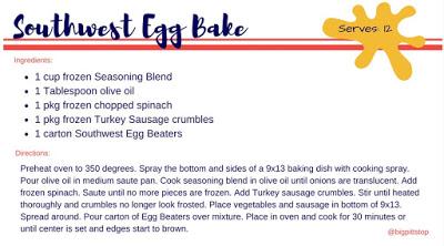 Recipe: Southwest Egg Bake