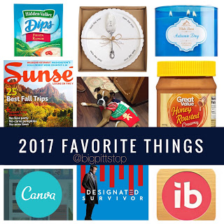 2016 Favorite Things