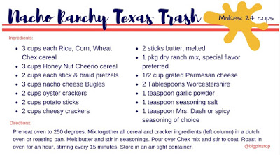 Nacho Ranchy Texas Trash (Chex Party Mix): Grandad Crunch | bigpittstop.com