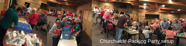 Operation Christmas Child   Packing Party Ideas and Set-up