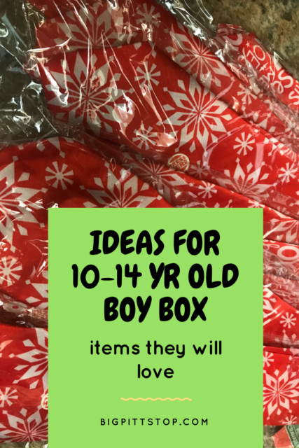 Operation Christmas Child | ideas for packing a box for a 10-14 yr old boy