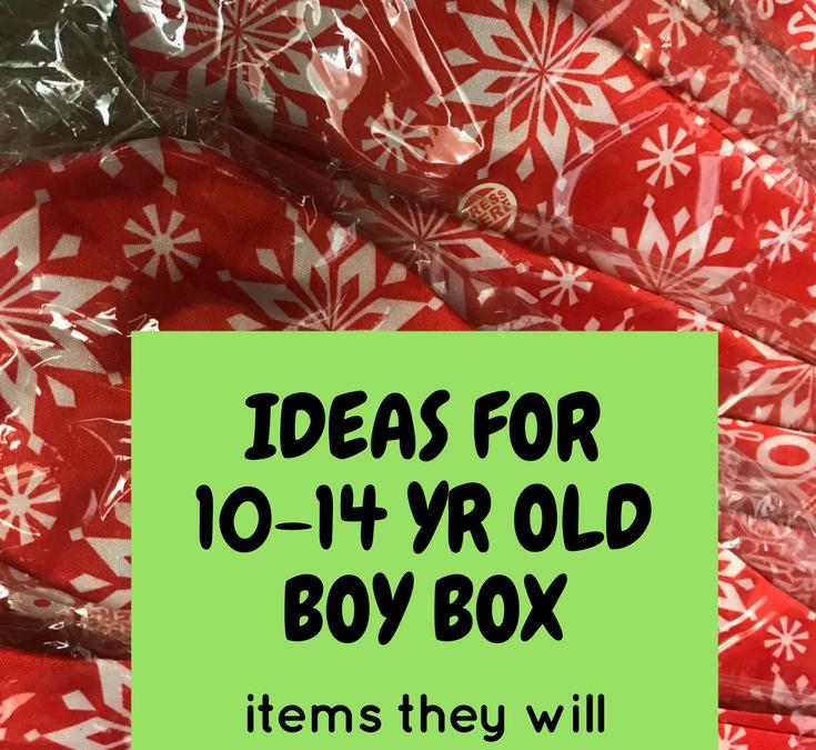 OCC Shoebox Packing Tip | 10-14 yr boy