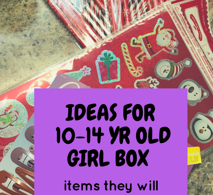 OCC Shoebox Packing Tips | 10-14yr old girl