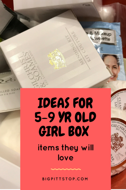 OCC Shoebox Packing Tips | Ideas for 5-9 yr old girl box