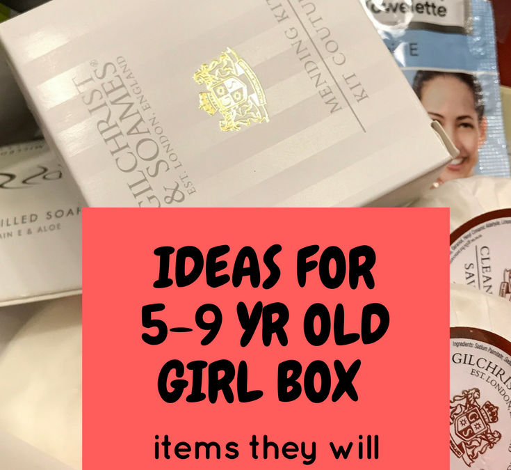 OCC Shoebox Packing Tip | Ideas for 5-9yr old Girls