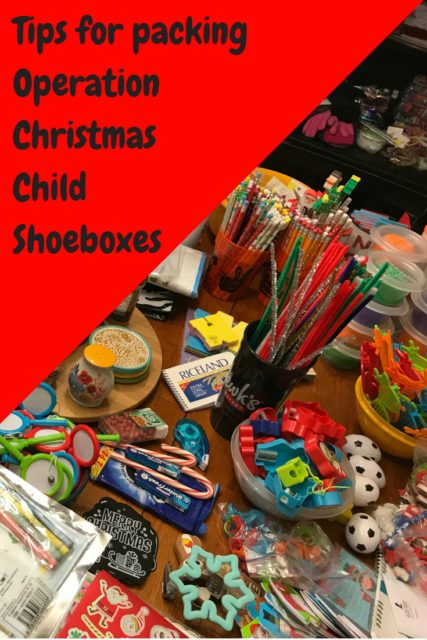 Tips for Packing Operation Christmas Child Boxes