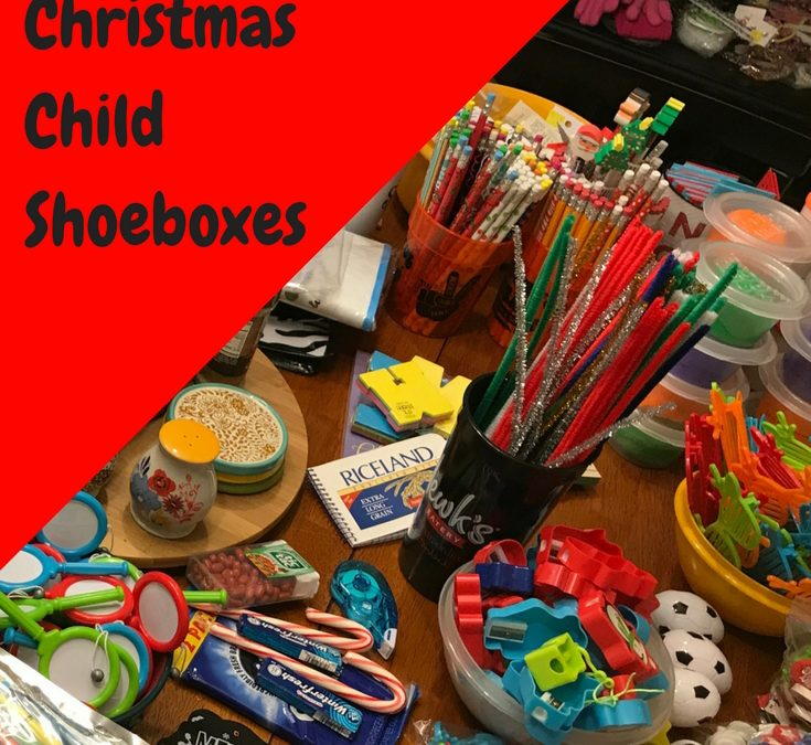OCC Shoebox Packing tips | Getting Started