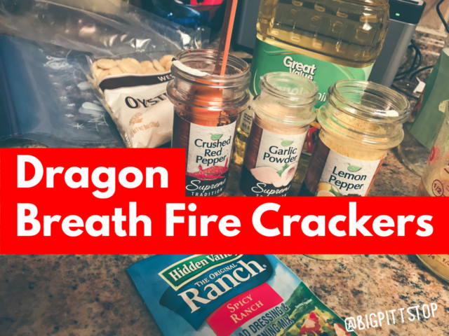 Dragon Breath Fire Crackers | @bigpittstop | perfect snack for dad to munch on while he watches TV!